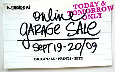 Kals garage sale
