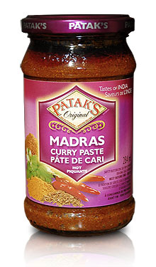Paste-madrascurry
