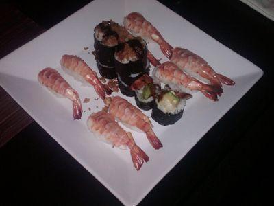 Sushi with Ed