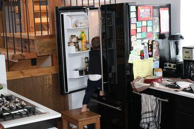 Leo in fridge 057