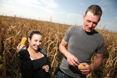 C and g in corn